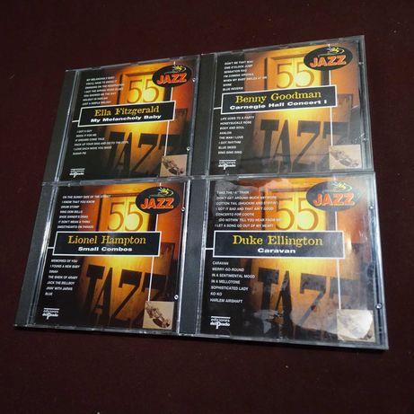 Colécção de 16 CDs de JAZZ