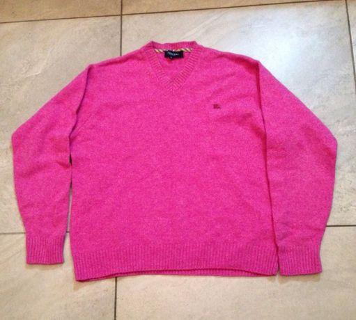 Sweter róż Burberry HILFIGER polo Ralph