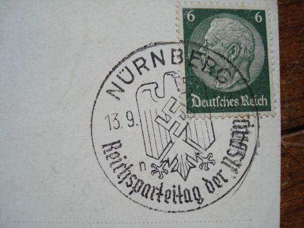 Postal antigo do III Reich