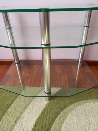 Стол  стеклянный на 3 полки