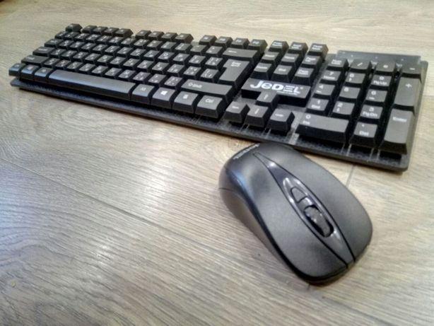 Беспроводная  клавиатура  новая WS630 + мышка