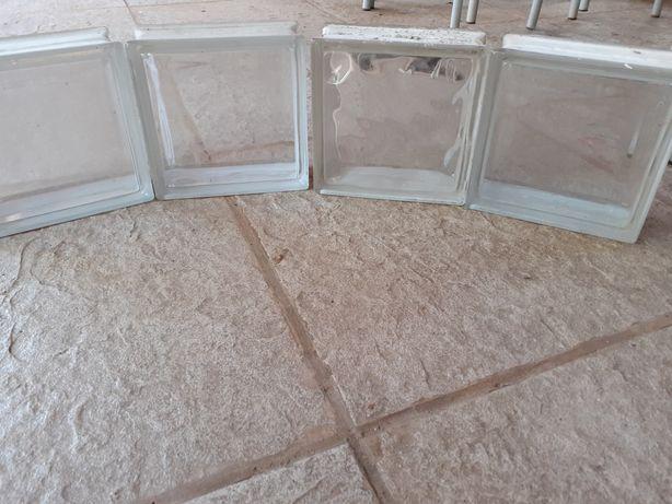 Blocos de vidro