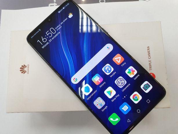 Huawei P30 Dual SIM 6GB / 128GB/ Czarny/ BDB+/ z Euro RTV AGD/ Gdynia