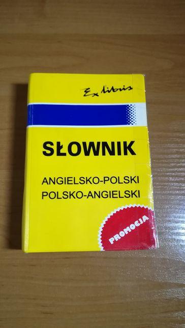 Słownik angielski-płaski, polsko-angielski, exlibris
