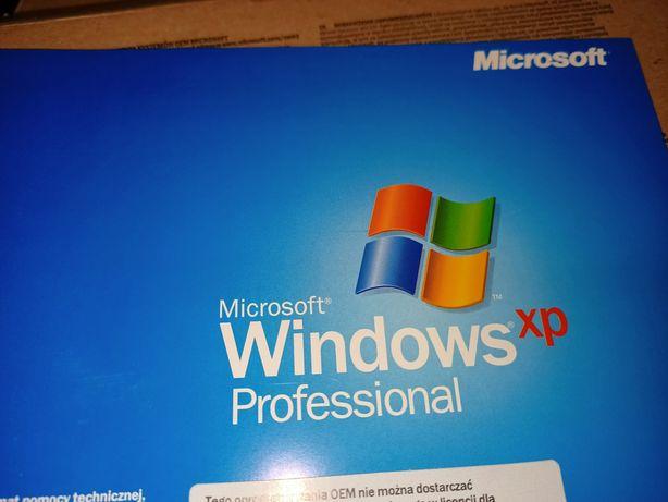 Oryginalny System operacyjny Windows xp professional