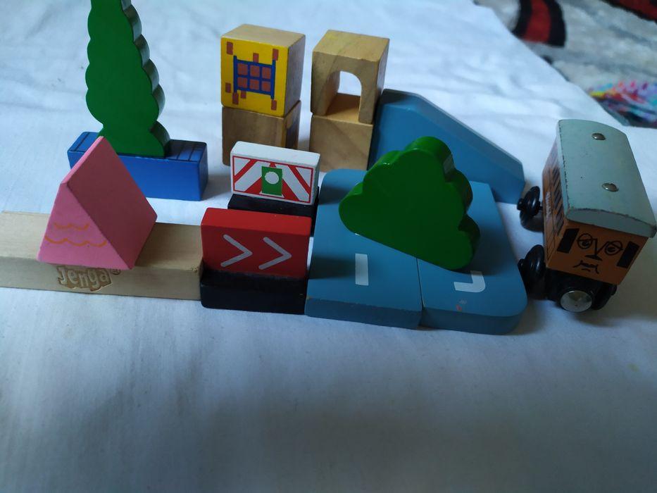 """Дерев""""яні  іграшки  з вагончиком. Розсошенцы - изображение 1"""