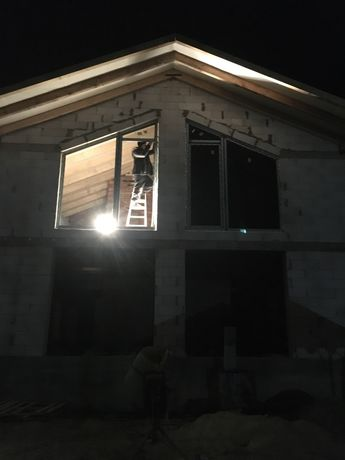 Монтаж та демонтаж металопластикових вікон, дверей та балконів