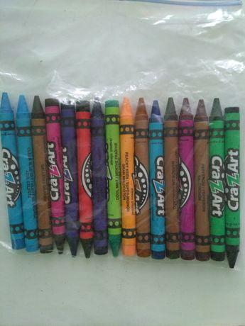 Восковые карандаши Crazart подбираем цвет