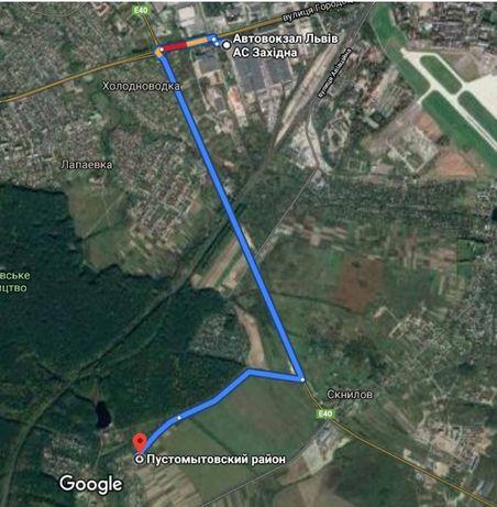 Земельна ділянка 23 сот, комунікації, поруч ліс 5 км від Львова