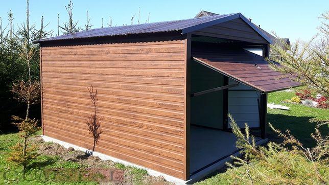 Garaż blaszany jednostanowiskowy 3x5 , garaże blaszene , wiaty , hale