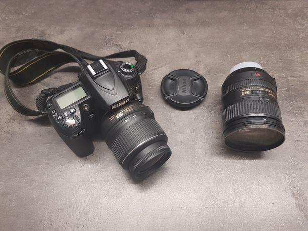 Aparat cyfrowy Nikon d90 (2 obiektywy)