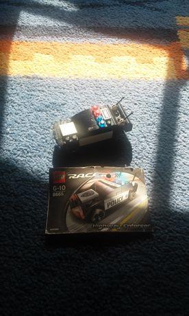 Lego racers 8665 samochód policyjny, wyścigówka