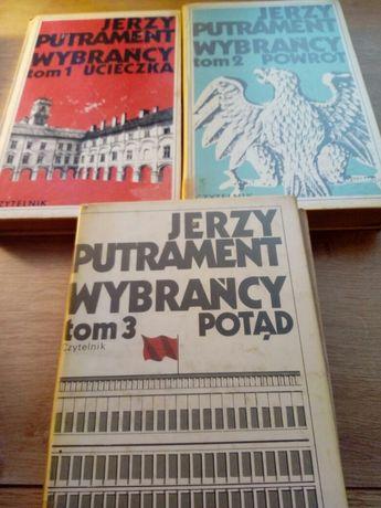 Jerzy Putrament Wybrańcy tomy 1,2,3