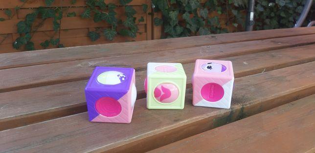 Kostki edukacyjne zabawka edukacyjną Fisher Price