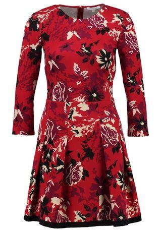 PATRIZIA PEPE elegancka NOWA sukienka princeska M w kwiaty max mara