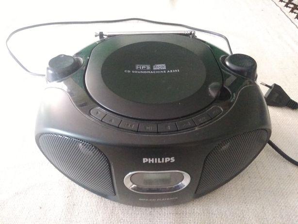 Boombox cd mp3 player Philips soundmachine AZ302