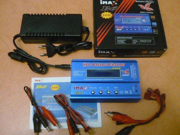 Зарядное устройство IMAX B6 80W 6A LiPo LiIon LiFe Pb NiCd аккумулятор