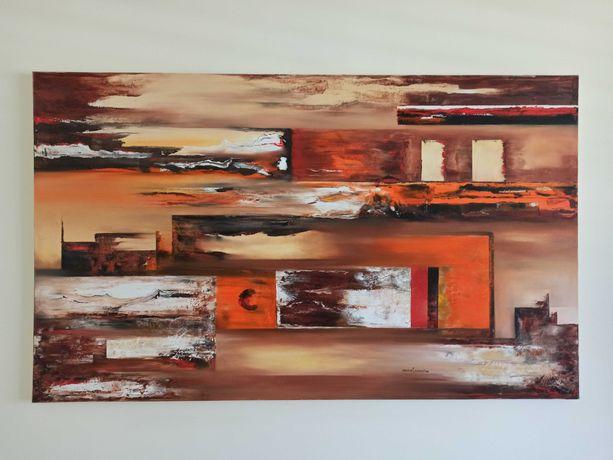Pintura a óleo, Paula Carreira, 150 X 90, Original.