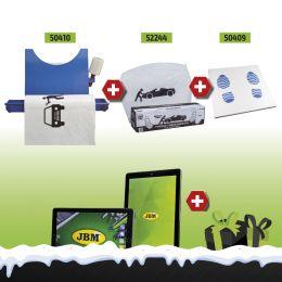 Expositor+Material+ 250 Cobre Acentos+Tapete + Oferta á escolha