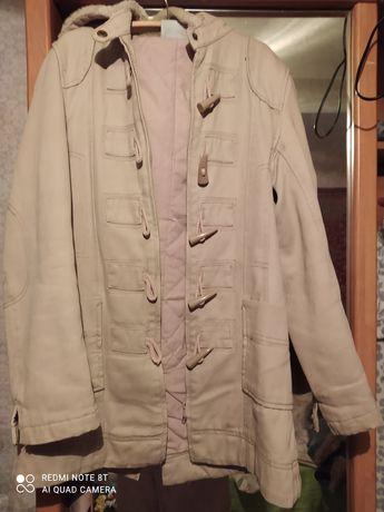 Продам курточку парку на теплую зиму