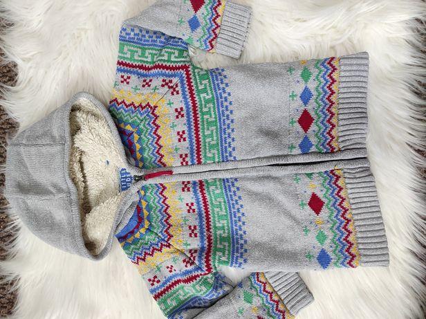 Теплая кофта для девочки/ мальчика