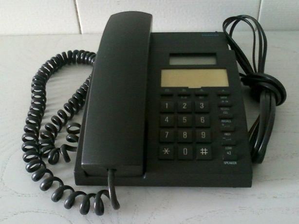 Telefone Siemens com atender de chamadas de chip. Com controle remoto.