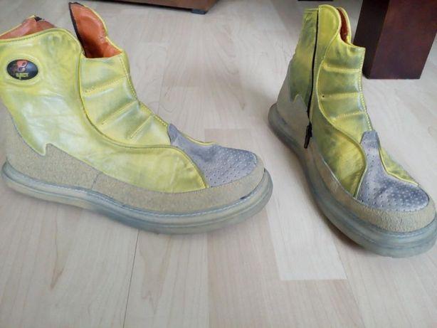 skórzane buty męskie za kostkę rozmiar 42
