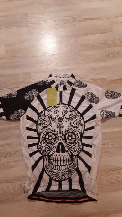 Koszulka kolarska czaski nowa Oświęcim - image 1