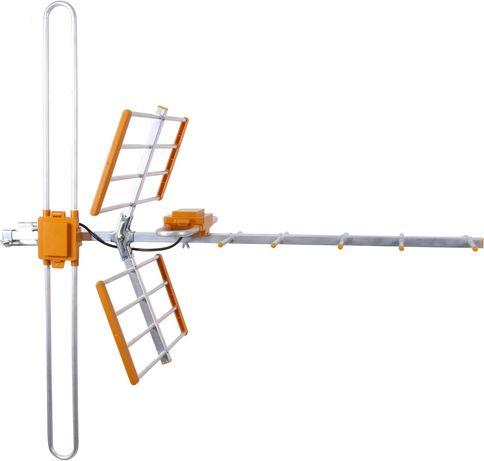 Antena DVB-T Galaxy combo VHF H/V + UHF Kielce