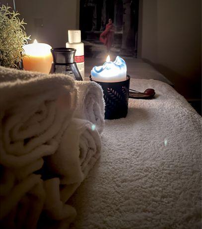 Massagista-massagem