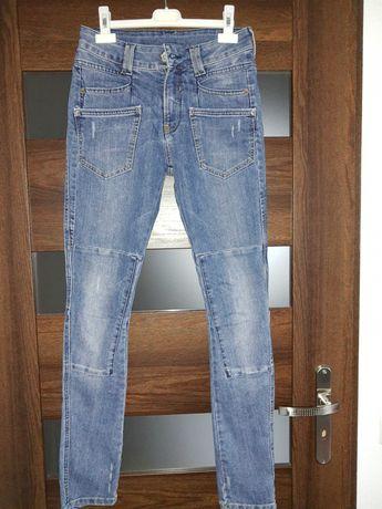 Spodnie jeansy jak nowe 36