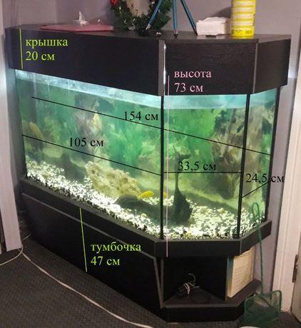 Продам аквариум 500 литров