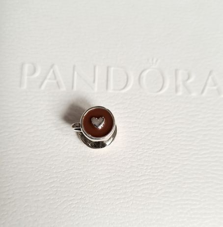 Charms filiżanka kawy srebro próba 925 do Pandora,Apart,Yes