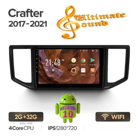 Штатная магнитола Volkswagen Crafter 2016 + Android 10