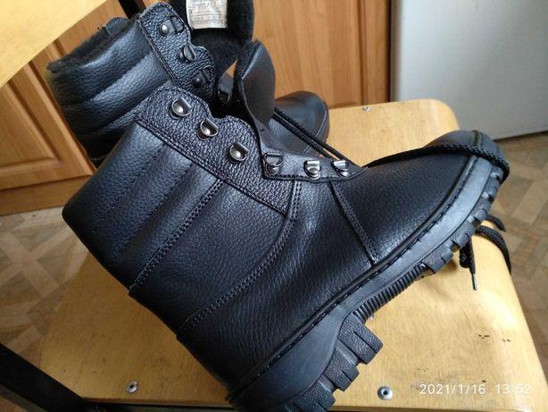 Nowe ocieplane buty traperki