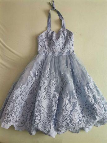 piękna, efektowna sukienka na wesele