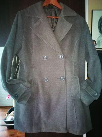 Płaszcz popielaty r. 50
