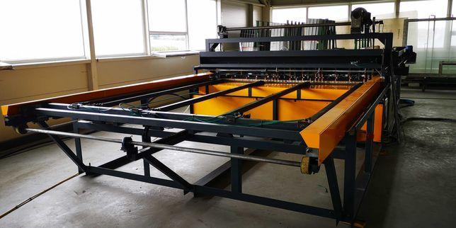 Многоточечный сварочный аппарат для панелей ограждения / полная линия