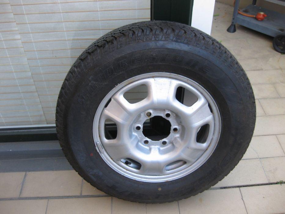 Pneus Bridgestone Dueler + Jantes 17 Polegadas Portel - imagem 1