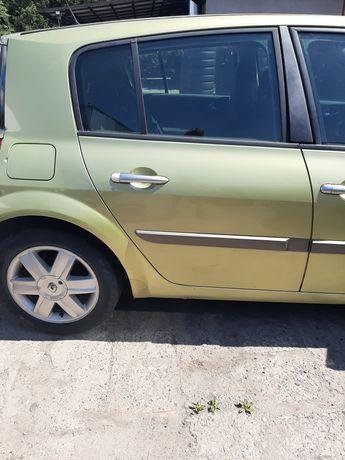Drzwi Prawe Tył Tylne Renault Megane 2