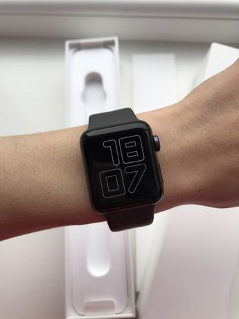 Apple watch 3 (38mm space gray)