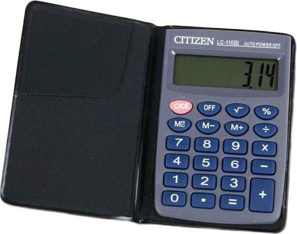 Карманный калькулятор CITIZEN