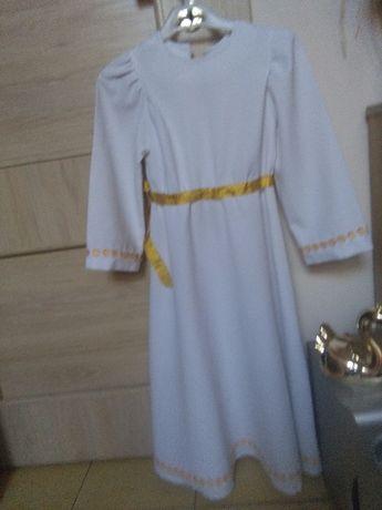 Alba na komunię strój sukienka aniołek