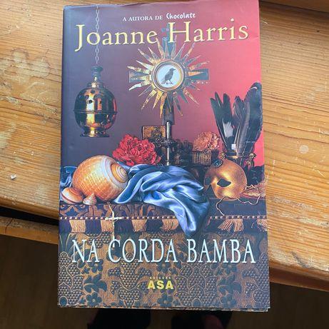 Livro na corda bamba de Joanne Harris