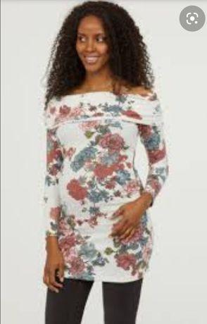 H&M MAMA tunika sweterek ciążowy
