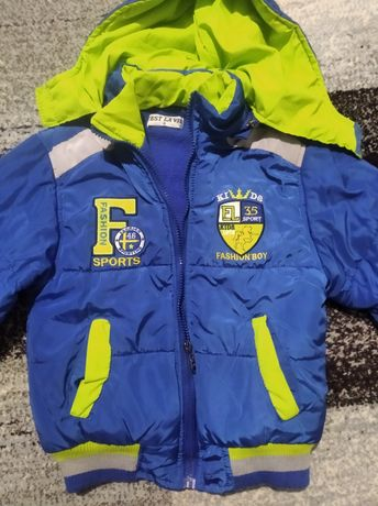 Куртка бомбер демисезонная р.122