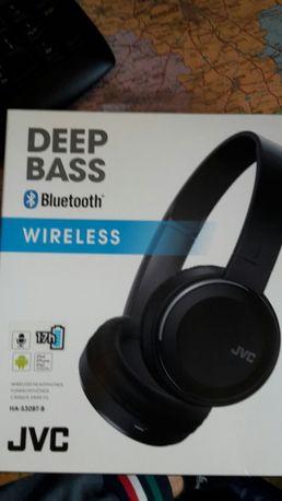Słuchawki  bezprzewodowe JVC Nowe