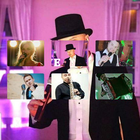 Zespół muzyczny z wodzirejem - wesela