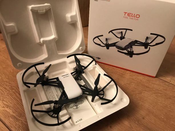 Dron dla początkujących / dla dzieci - DJI Tello. Nauka programowania.