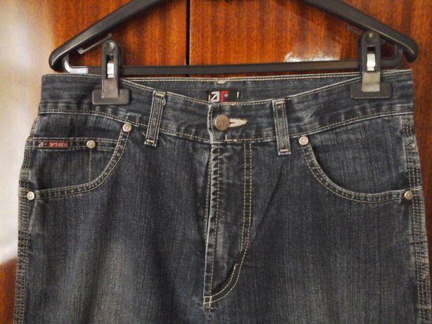 Джинси сині, класичні, чоловічі. Розмір 41/107 см